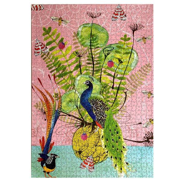 Peacock Paradise jigsaw puzzle