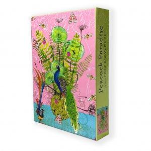 Peacock Paradise puzzle box