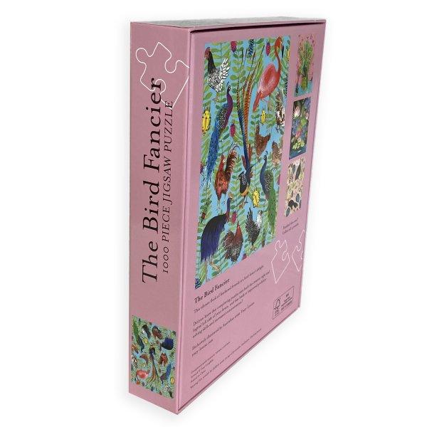 Bird Fancier puzzle box back