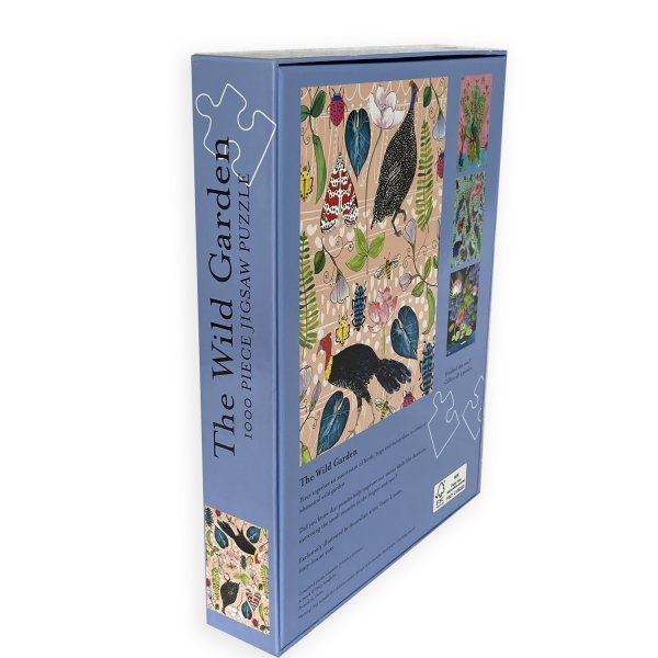 Wild Garden puzzle box back